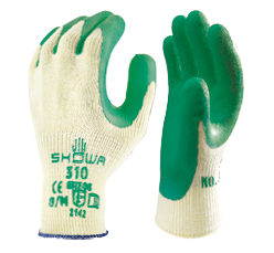 SHOWA 310 GREEN GRIP image 1